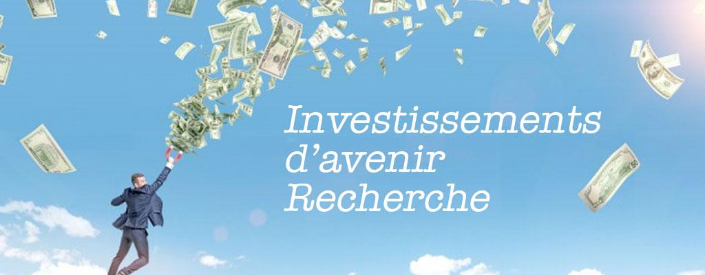 Investissements d'avenir recherche